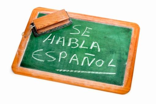 Spanish is spoken