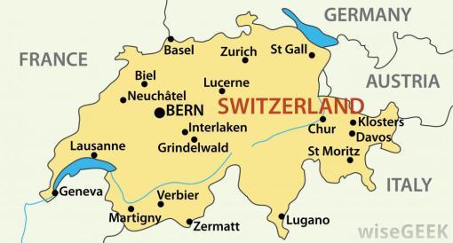 yellow-map-of-switzerland