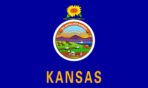 Kansas-Flag