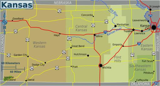 Kansas_regions_map