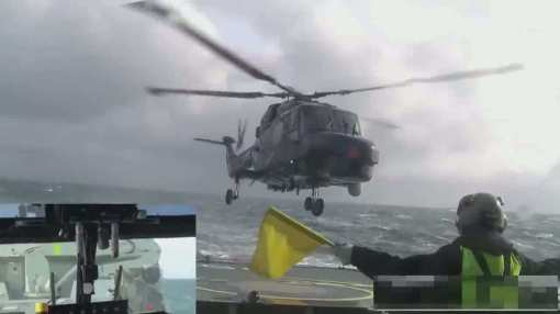 Lynx_helicopter_landing_on_ship_in_rough_sea__168480